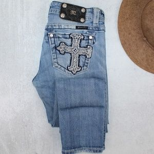 Miss Me Skinny Jeans Women's Size 27